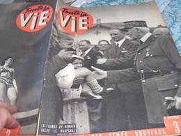 VIE/ PETAIN /NERAC/CHARCOT /FILM APPEL DU STADE JOSEPH BARTHELEMY /EDWIGE FEUILLERE /ELINA LABOURDETTE MESNIL ROI - 1900 - 1949