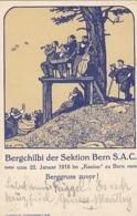 Bergchilbi Der Sektion Bern SAC - Sonderstempel - 1910 - Signiert           (P-188-90610) - BE Berne
