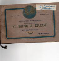 26 Romans Manufacture De Chaussures  Banc Et Dubé Tarif 1926 - France