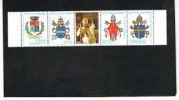 VATICANO - UNIF.1100.  -  1997  CENTENARIO NASCITA PAPA PAOLO VI  -   NUOVI  (MINT)** - Vaticano (Ciudad Del)