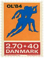 Ref. 96184 * NEW *  - DENMARK . 1984. GAMES OF THE XXIII OLYMPIAD. LOS ANGELES 1984. 23 JUEGOS OLIMPICOS VERANO LOS ANGE - Dinamarca