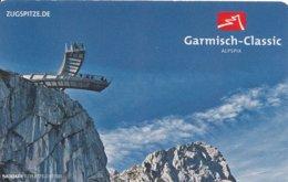 BRD Garmisch-Partenkirchen Fahrkarte 2015 Rundfahrt Garmisch Classic Zugspitze - Bahn