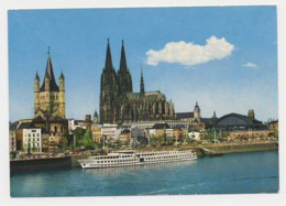 AJ35 Koln, Rheinufer Und Dom - Koeln