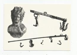 73 Savoie - Musée De Conflans ( Albertville ) Balance Romaine De Gilly , Fléau En Fer Peson Buste De Bronze A Corana - Albertville