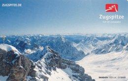 BRD Garmisch-Partenkirchen Fahrkarte 2014  Zugspitze Rundreise - Bahn