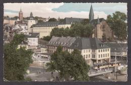 85990/ SIEGEN, Siegbrücke, Untere Schloss Und Martinikirche - Siegen