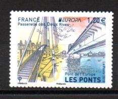 Europa CEPT 2018 France Francia Bridges 2stamps MNH - 2018