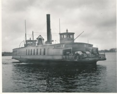 Grande Argentique Steamboat Steamer Steamship New-York Vintage Cars Voitures - Boats