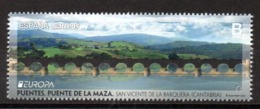 Europa CEPT 2018 Spain Bridges 1 Stamp MNH - 2018