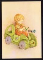 Boy Driving A Car - Lisi Martin - Holidays & Celebrations