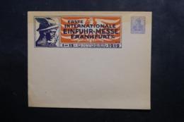 ALLEMAGNE - Entier Postal Illustré De La Foire De Frankfurt En 1919 Non Circulé - L 46114 - Ganzsachen