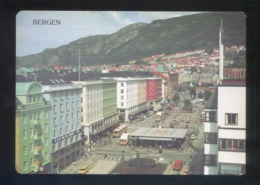 Bergen. *Main Street In Bergen* Nueva. - Noruega