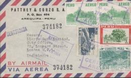 3450   Carta Aérea   Certificada  Arequipa - Peru , 1964 - Perù