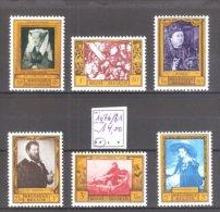 Belgique : N° 1076/81 ** MNH Cote COB : 14,00 € - Neufs