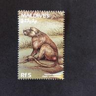 MALDIVES. YELLOW BABOON. MNH. 5R1204E - Chimpanzees