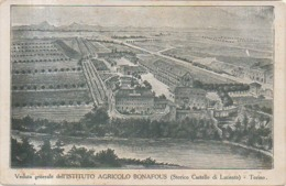 TORINO - ISTITUTO AGRICOLO BONAFOUS - CASTELLO DI LUCENTO - Educazione, Scuole E Università