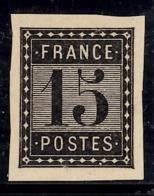 France Essai De L'Imprimerie Nationale 15 Cts Noir. TB. A Saisir! - Probedrucke