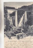 """Gornergrat-Bahn Bei Der Brücke über Den Findelenbach - Stabstempel """"Gornergrat"""" - 1899           (P-188-90610) - VS Valais"""
