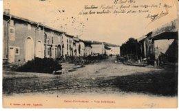 Vosges SAINT PIERREMONT Vue Intérieure (du Village) Carte Pionnière 1904 - Autres Communes
