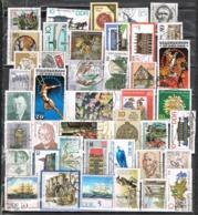 34516. Lote 81 Sellos ALEMANIA Federal - DDR Y BERLIN. Usados - Alemania
