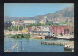 Bergen. *View Of The Harbour, Vagen* Nueva. - Noruega