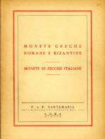[DO] Ditta Santamaria - CLASSICHE E ITALIANE 1959 (Catalogo / Catalogue) - Livres & Logiciels