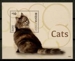 Bequia 2014 / Cats MNH Gatos Katzen Chats / Cu12103  18-37 - Gatos Domésticos