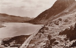 AT03 Lynn Ogwen, Nant Ffrancon - RPPC - Caernarvonshire