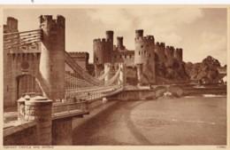 AT03 Conway Castle And Bridge - Caernarvonshire