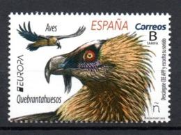 Europa CEPT 2019 Spain Birds 1 Stamp MNH - 2019