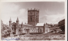 AT03 St. Davids Cathedral From S.W. - Local Publisher - Glamorgan