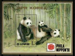 Korea 1991 Corea / Panda Bear Mammals MNH Mamiferos Oso Panda Säugetiere / Cu12818  36-49 - Orsi