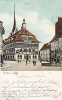 """Stein A. Rhein - """"Feldpoststempel Bewachungskomp.15""""            (P-188-90610) - SH Schaffhausen"""