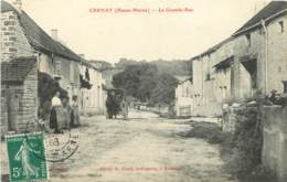 52 - CRENAY - LA GRANDE RUE - Francia