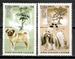 Cuba 2006 / Mammals Dogs Cats Horses MNH Fauna Mamiferos Säugetiere Hunde Katzen / Cu11307  C3-2 - Perros