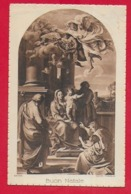 CARTOLINA VG ITALIA - BUON NATALE - Sacra Famiglia - BATONI - 9 X 14 - 1934 TARCENTO - Altri