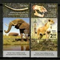 Israel 2018 / Archeology Lion Elephant MNH Mamíferos Arqueología Säugetiere / Cu13215  1-10 - Sellos