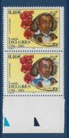 """FR Variétés YT 3491 """" Louis Delgrès """" Veste Bleu Clair Au Lieu De Bleu-noir TAN - Variétés Et Curiosités"""