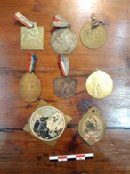 Lot De Petites Médailles Souvenirs - Francia