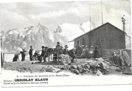 74 SOMMET DU BREVENT ET DU MONT BLANC TOP ANIMEE - Chamonix-Mont-Blanc