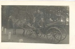 IJmuiden  (originele Fotokaart)   (4 X Scan)     (rijtuig  Paard) - IJmuiden