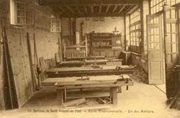 B59912 Cpa Berceau De St Vincent De Paul - Ecole Professionnelle, Un Des Ateliers - France