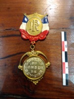 Médaille Souvenir Du Conseil De Révision - Frankrijk