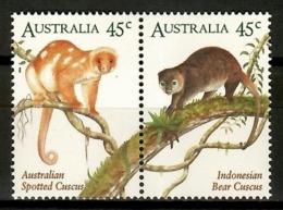 Australia 1996 / Fauna Mammals Monkeys Joint Issue Indonesia MNH Mamíferos Monos Säugetiere / Cu12403  2-10 - Sellos