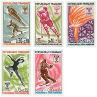 Ref. 72868 * NEW *  - FRANCE . 1968. X OLYMPIC WINTER GAMES. GRENOBLE 1968. 10 JUEGOS OLIMPICOS  INVIERNO GRENOBLE 1968 - Francia