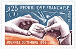 Ref. 122084 * NEW *  - FRANCE . 1966. STAMP DAY. DIA DEL SELLO - Nuovi