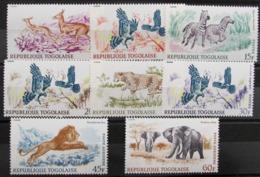 Togo 543/8 + A81/2 ** - Togo (1960-...)