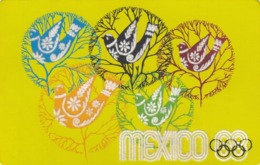Olympic Games ; Mexico ; 1968 ; Black Light Poster Art #1 - Giochi Olimpici