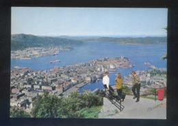 Bergen. *View Of Bergen From Mount Floyen* Nueva. - Noruega