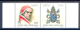 O69- Vatican 1998 Popes Of The Holy Years. - Unused Stamps